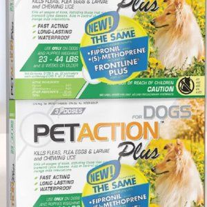 Flea & tick for medium dogs 23-44lbs 6 doses